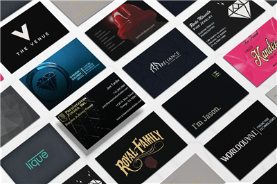 Business Cards - Raised UV
