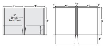 alternate templates | presentation folder, inc., Presentation templates