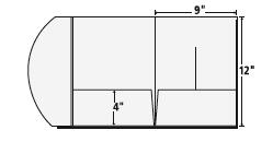 Presentation folder inc national manufacturer of presentation 9 x 12 tri panel presentation folder template maxwellsz