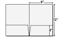 Presentation folder inc national manufacturer of presentation 9 x 12 presentation folder template maxwellsz